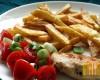 Grillowany kurczak z frytkami