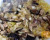 Kasza z grzybami leśnymi